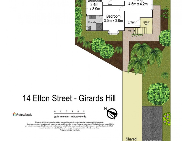 14 Elton Street, Girards Hill NSW 2480 Floorplan