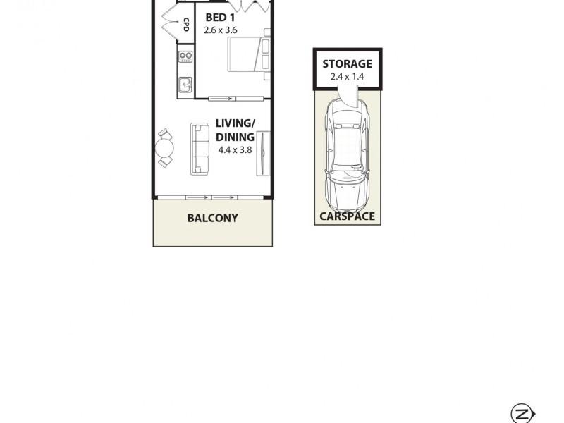 202/178 Thomas Street, Haymarket NSW 2000 Floorplan