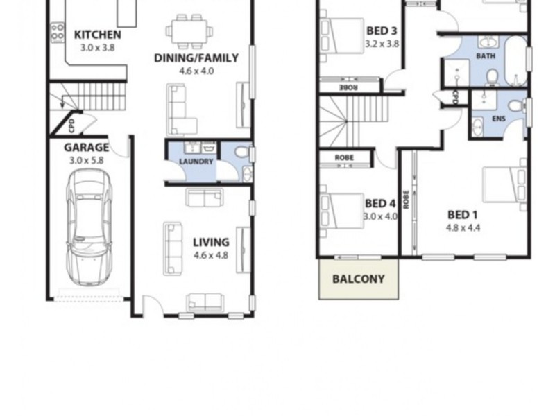 2B Pivetta Street, Revesby NSW 2212 Floorplan