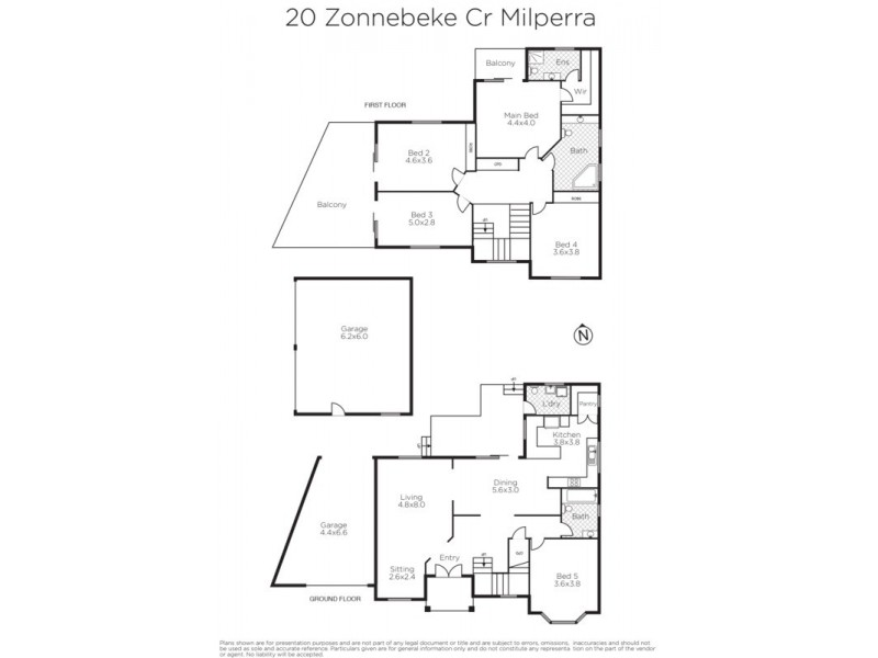 20 Zonnebeke Avenue, Milperra NSW 2214 Floorplan
