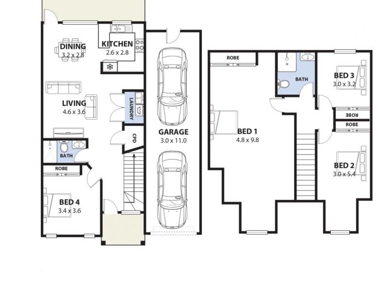 4/23 Montgomery Avenue, Revesby NSW 2212 Floorplan