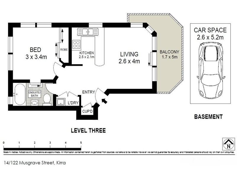 14/122 Musgrave  Street, Coolangatta QLD 4225 Floorplan