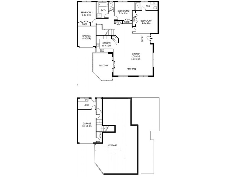 1 /79  Glen Ayr Drive, Banora Point NSW 2486 Floorplan