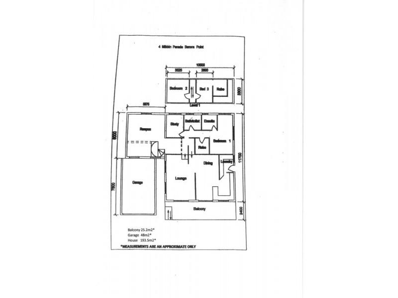 4 Mibbin Parade, Banora Point NSW 2486 Floorplan