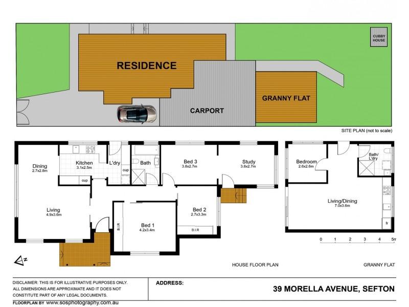 39 Morella Avenue, Sefton NSW 2162 Floorplan