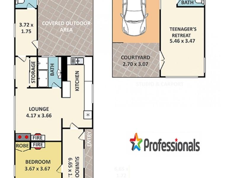 40 Calero Street, Lithgow NSW 2790 Floorplan