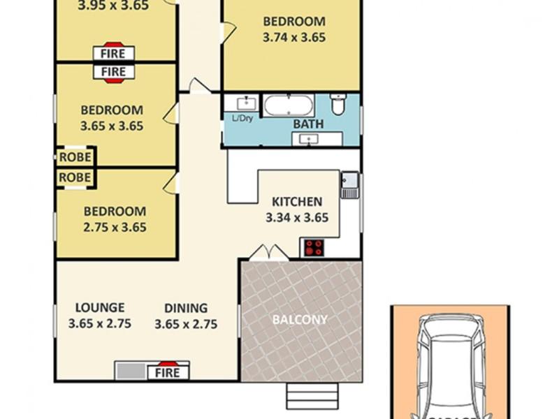 21 Macauley Street, Lithgow NSW 2790 Floorplan