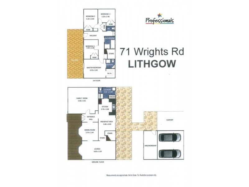 71 Wrights Road, Lithgow NSW 2790 Floorplan