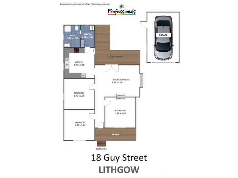 18 Guy Street, Lithgow NSW 2790 Floorplan
