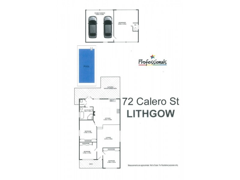 72 Calero Street, Lithgow NSW 2790 Floorplan