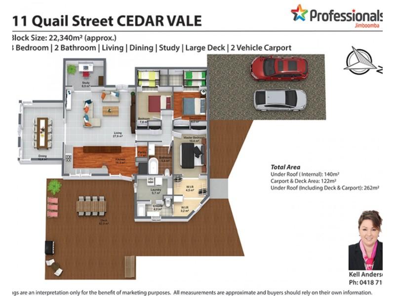 111-121 Quail Street, Cedar Vale QLD 4285 Floorplan