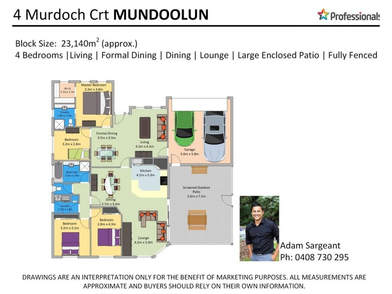 24 Murdoch Court, Mundoolun QLD 4285 Floorplan