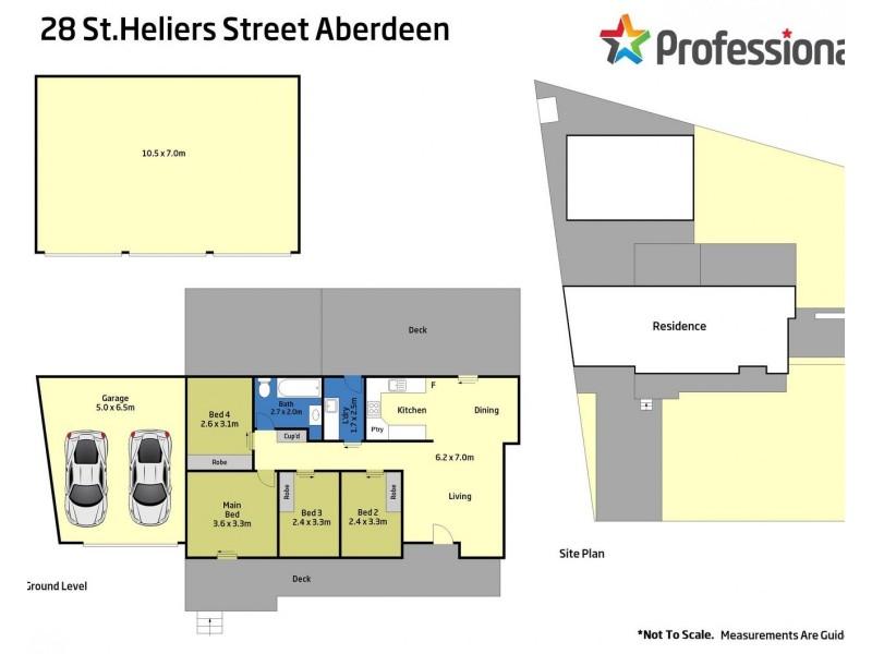 28 St Heliers Street, Aberdeen NSW 2336 Floorplan