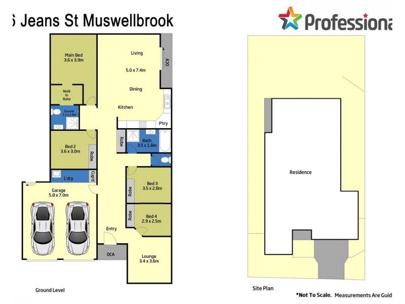 36 Jeans Street, Muswellbrook NSW 2333 Floorplan
