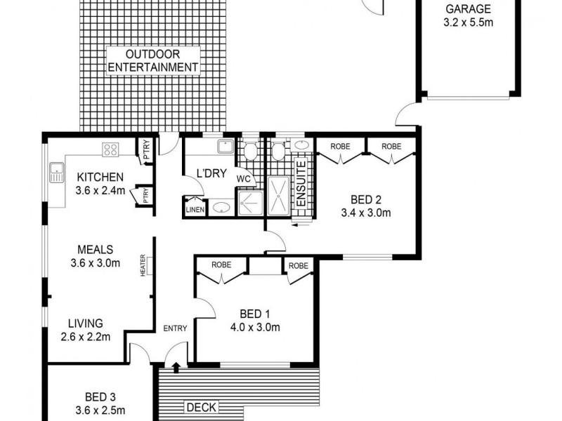 18 Carolin Street, Flora Hill VIC 3550 Floorplan