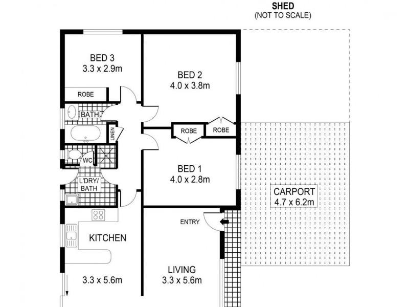 29 Kinross Street, Long Gully VIC 3550 Floorplan