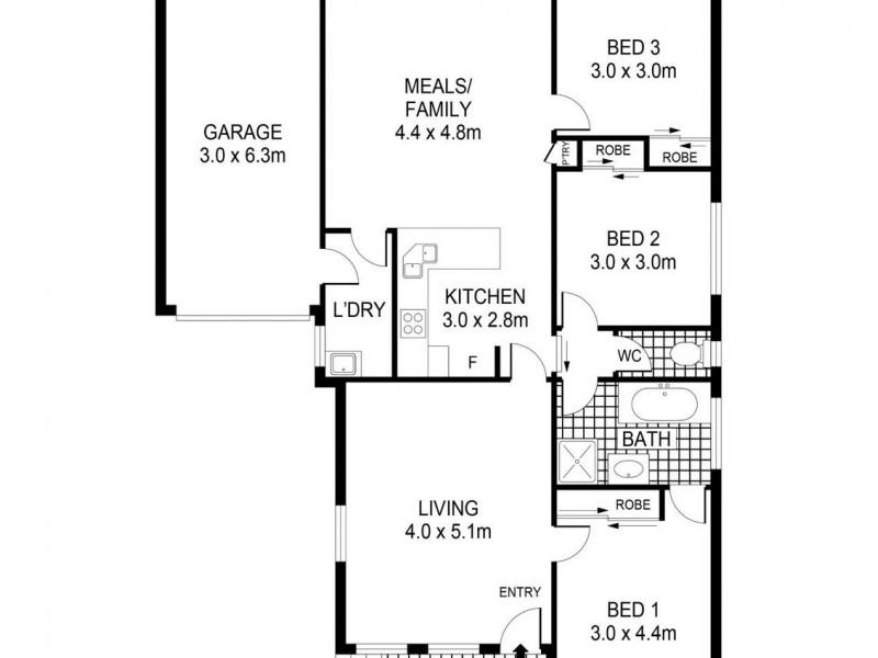 2a Allott Court, Spring Gully VIC 3550 Floorplan