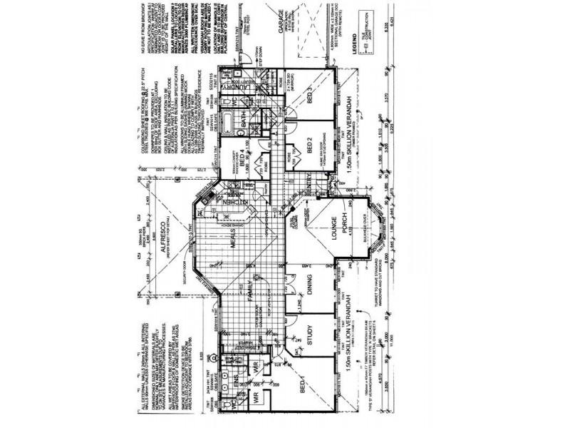 34 Janelle Drive, Maiden Gully VIC 3551 Floorplan