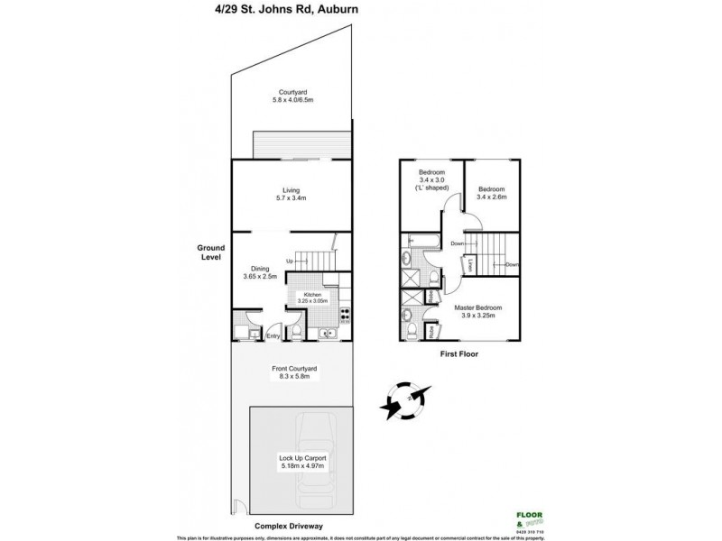 4/29 St Johns Road, Auburn NSW 2144 Floorplan