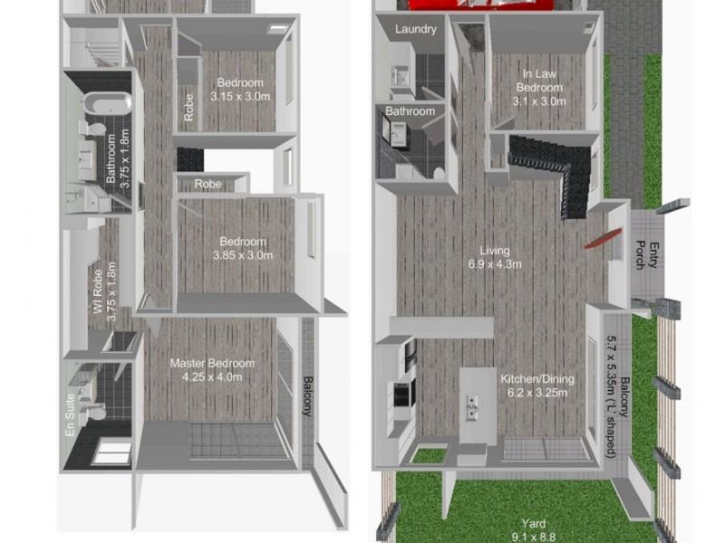 3A Biara Avenue, Clemton Park NSW 2206 Floorplan