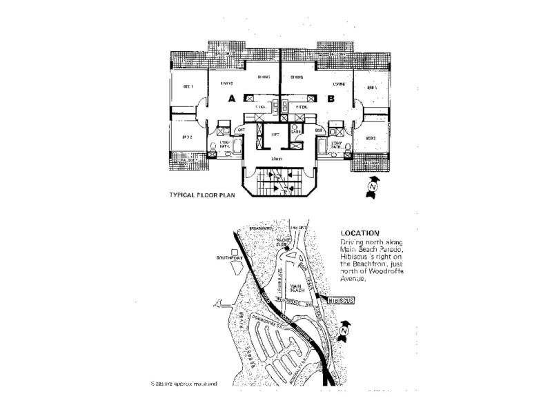 Hibiscus/3555 Main Beach Parade, Main Beach QLD 4217 Floorplan