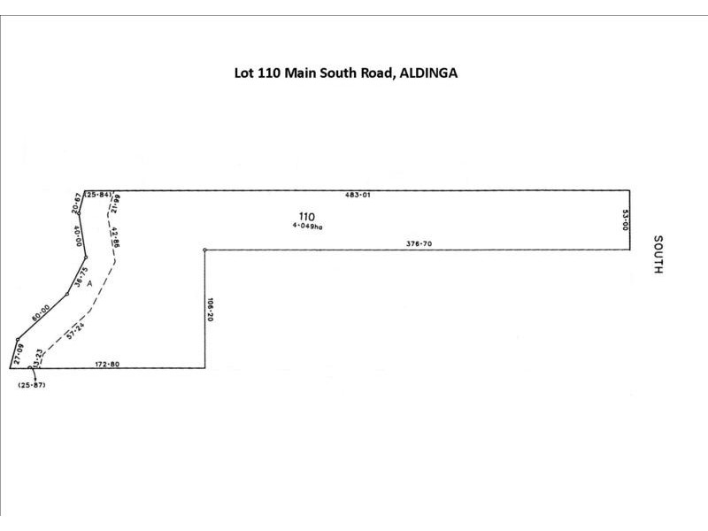 Lot 110 Main South  Road, Aldinga Beach SA 5173