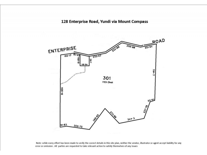 128 Enterprise Road, Yundi SA 5172 Floorplan