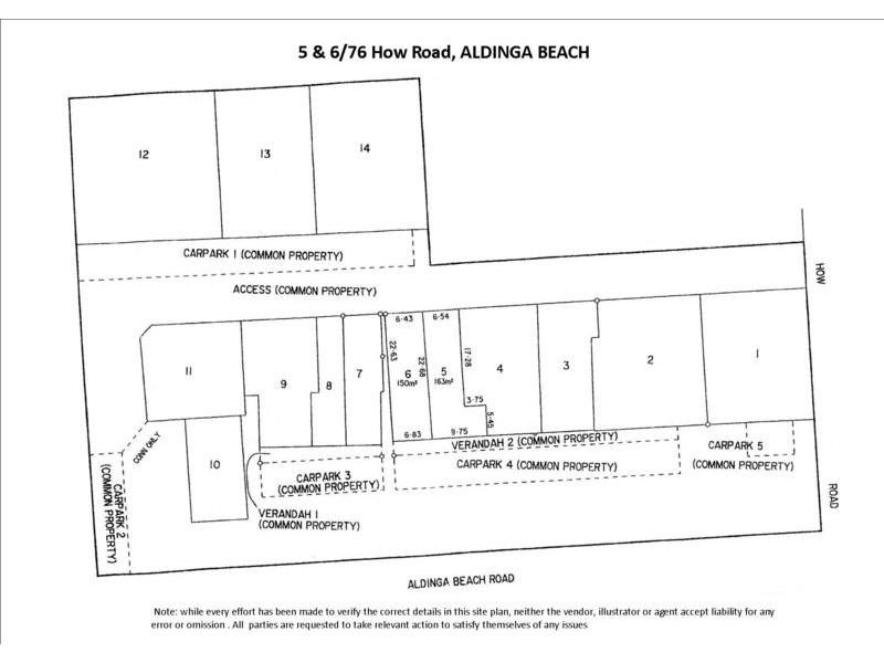 5 & 6/76 How Road, Aldinga Beach SA 5173 Floorplan