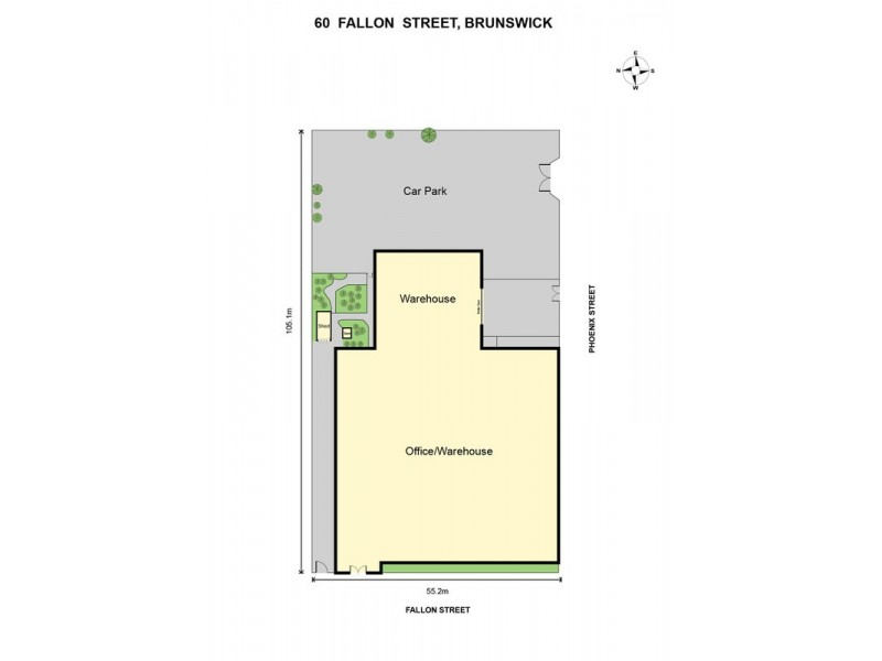 60 Fallon Street, Brunswick VIC 3056 Floorplan