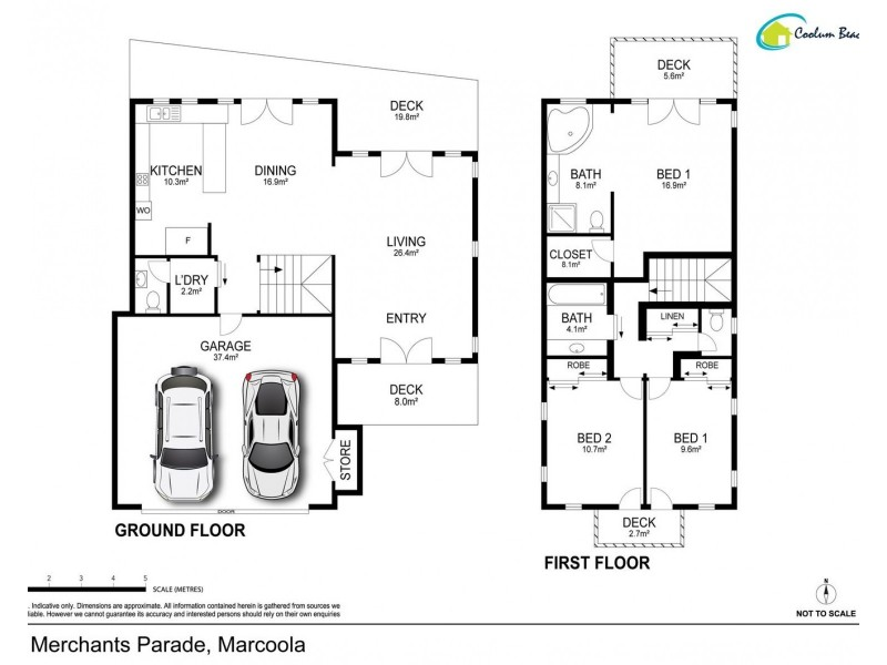 18/1 Merchants Parade, Marcoola QLD 4564 Floorplan