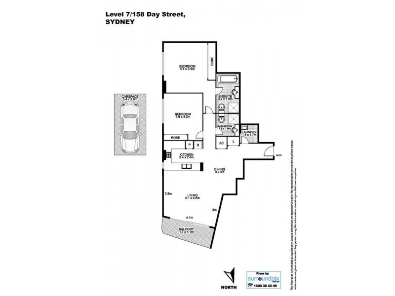 158 Day  Street, Sydney NSW 2000 Floorplan