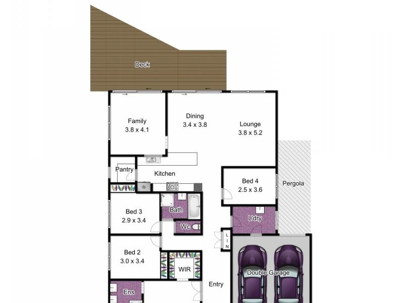 15 Kyla Avenue, Dandenong VIC 3175 Floorplan