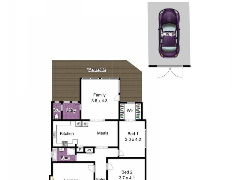 14 Herbert Street, Dandenong VIC 3175 Floorplan
