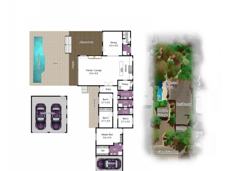 28 Glen Shian Lane, Mount Eliza VIC 3930 Floorplan