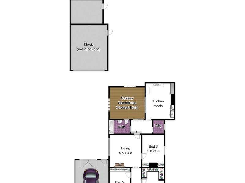 86 Langhorne Street, Dandenong VIC 3175 Floorplan