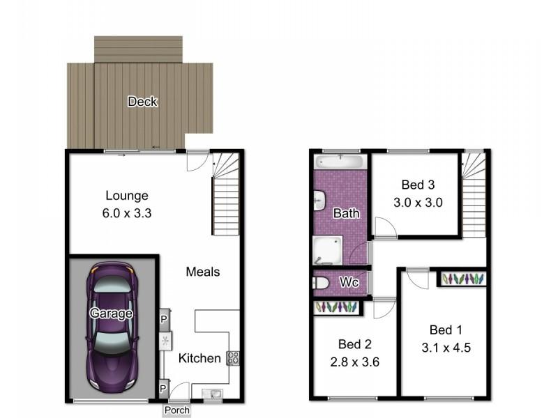 32/57 Clow Street, Dandenong VIC 3175 Floorplan