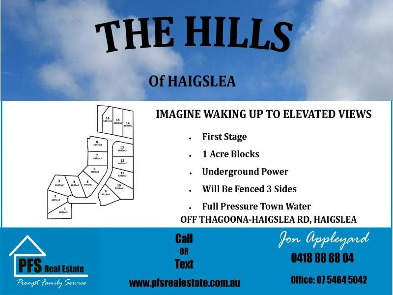 Lot 1 Caffery Drive, Haigslea QLD 4306