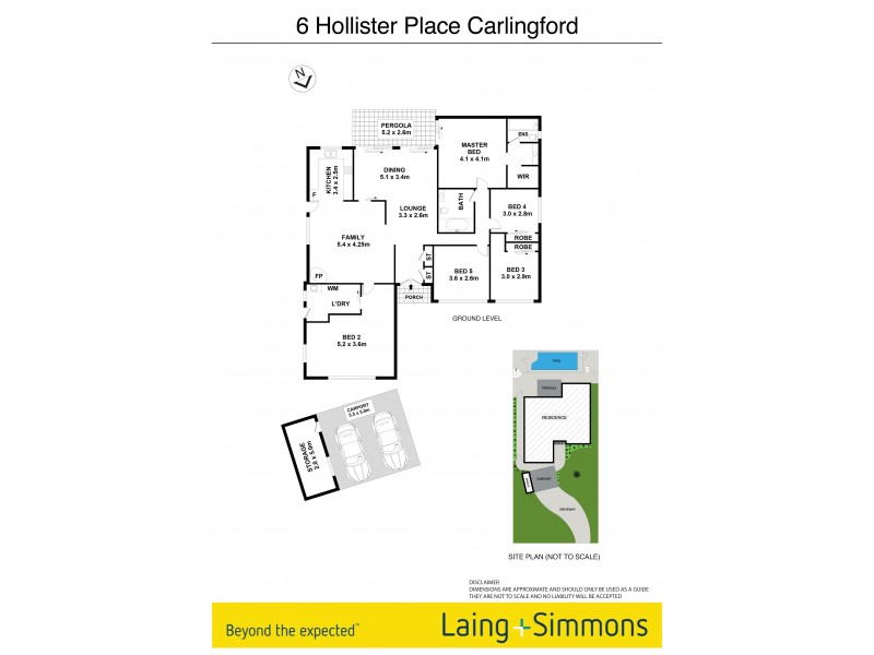 6 Hollister Place, Carlingford NSW 2118 Floorplan