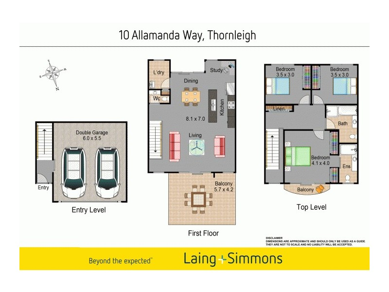 10 Allamanda Way, Thornleigh NSW 2120 Floorplan