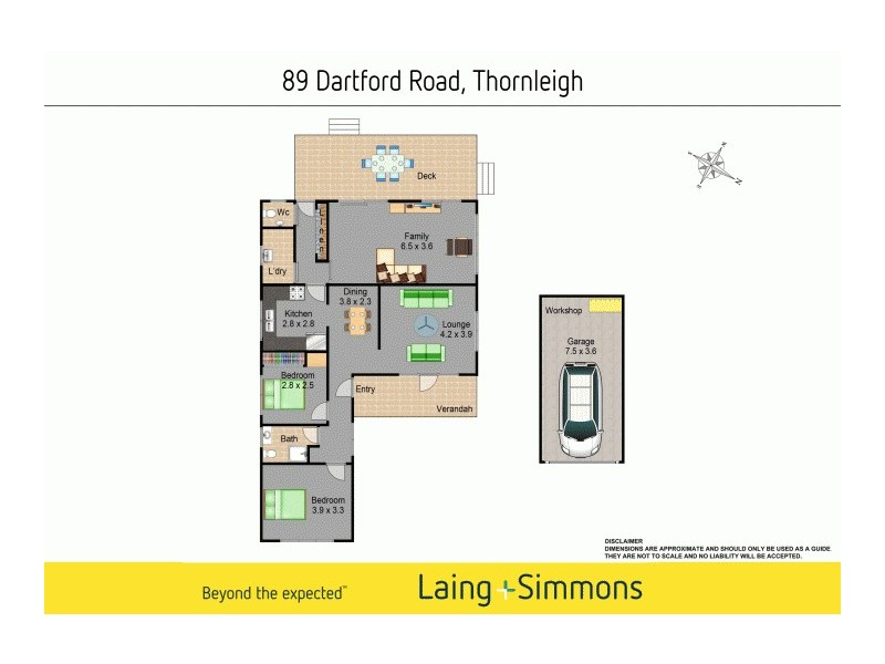 89 Dartford Road, Thornleigh NSW 2120 Floorplan