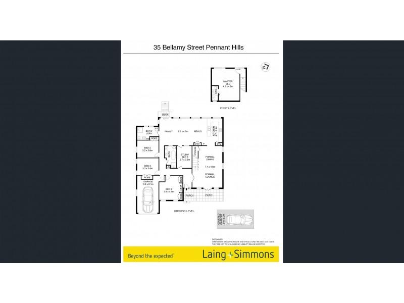 35 Bellamy Street, Pennant Hills NSW 2120 Floorplan