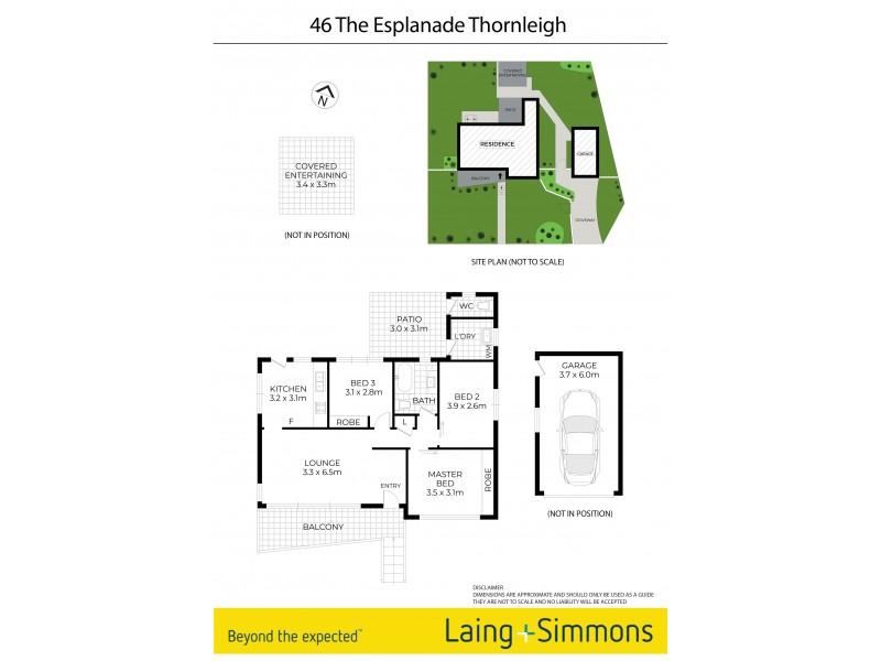 46 The Esplanade, Thornleigh NSW 2120 Floorplan