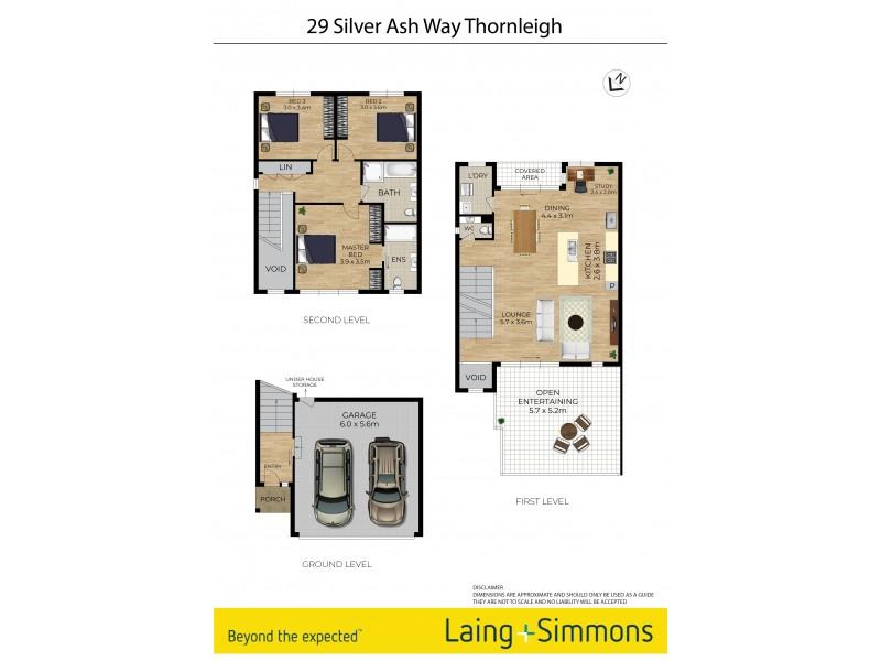 29 Silver Ash Way, Thornleigh NSW 2120 Floorplan
