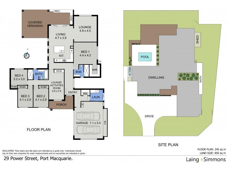 29 Power Street, Port Macquarie NSW 2444 Floorplan