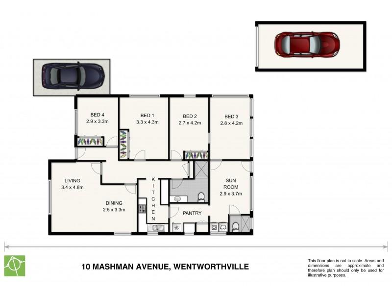 10 Mashman  Ave, Wentworthville NSW 2145 Floorplan