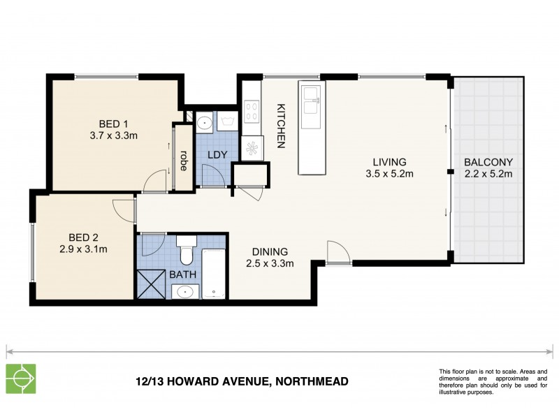 12/13-15 Howard Avenue, Northmead NSW 2152 Floorplan