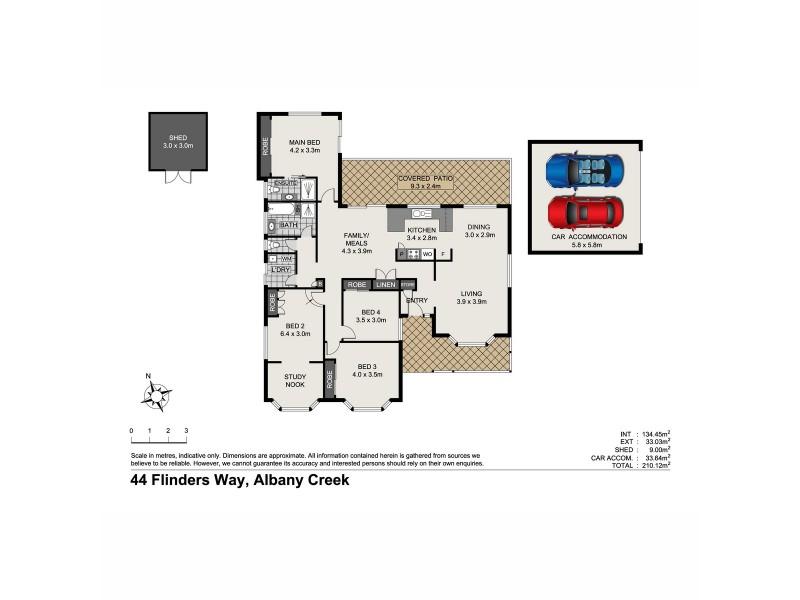 44 Flinders Way, Albany Creek QLD 4035 Floorplan