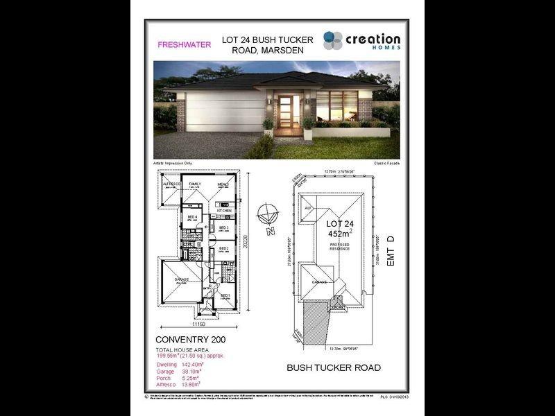 Lot 24 Bush Tucker Road, Marsden QLD 4132