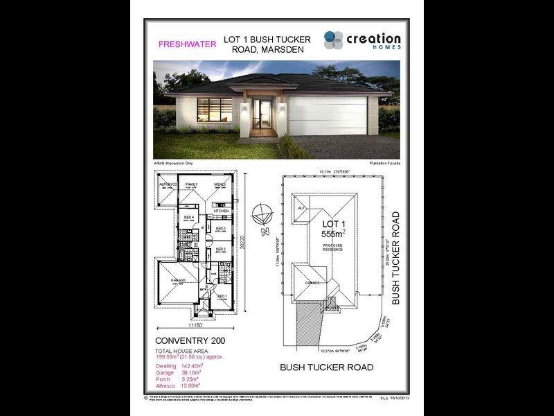 Lot 1 Bush Tucker Road, Marsden QLD 4132