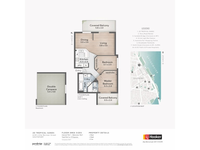 6/20 Little Norman Street, Southport QLD 4215 Floorplan